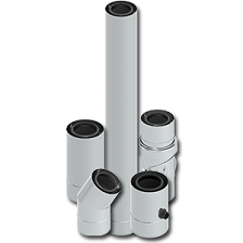 Conduits concentrique Twin PPS Inox