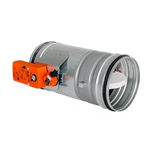 Ronde brandklep EI 120S Belimo 24V Ø 100 mm