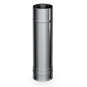 Elément droit 1000 mm Twin K Ø 130\200 mm