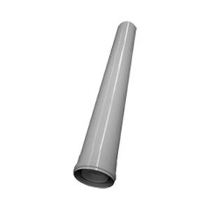 Elément droit 1000 mm ALU PPS Ø 80\125 mm