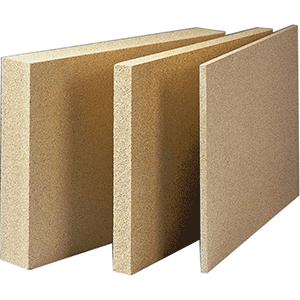 Panneau en vermiculite 1000 x 610 x 25 mm