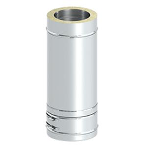 Elément droit 1000 mm DW32 Ø 150 mm