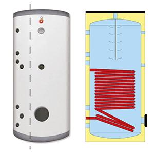 Boiler ECS émaillé LIFE 200L Classe B