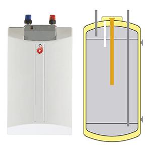 Boiler ECS électrique inox SINK 10L sous évier