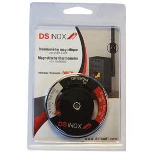 Thermomètre magnétique pour poêle