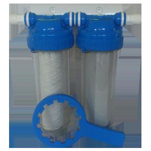 """Kit 2 filtres WFU raccord 3/4"""" M"""