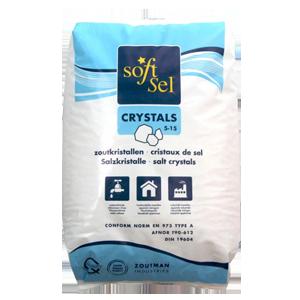 Sac de cristaux de sel pour adoucisseur (25kg)
