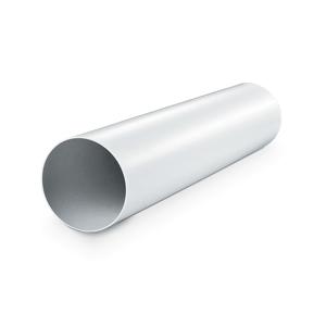 Tube circulaire en PVC - L=1,5 m - Finition blanche Ø 150 mm
