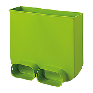 Connecteur en L pour grille flexible ovale - 60/130 mm
