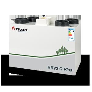 Caisson double flux HRV2 standard raccordement gauche - Débit 285 m³/h