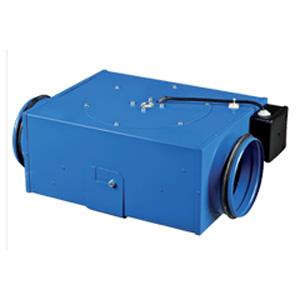 Ventilateur centrifuge COMPACT en acier revêtu en polymère - Débit 340 m³/h Ø 125 mm