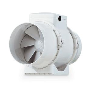 Extracteur de gaine axial LINER à 2 vitesses  en ABS - Débit 280 m³/h Ø 125 mm